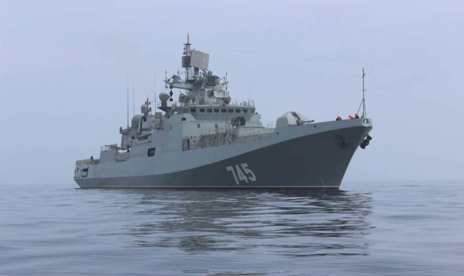 Rusia dan India telah menandatangani kontrak untuk pembangunan empat frigat proyek 11356