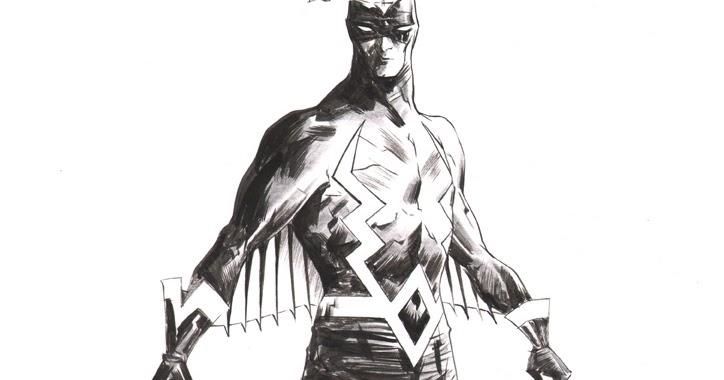 Marvel Comics of the 1980s: Black Bolt by Jae Lee