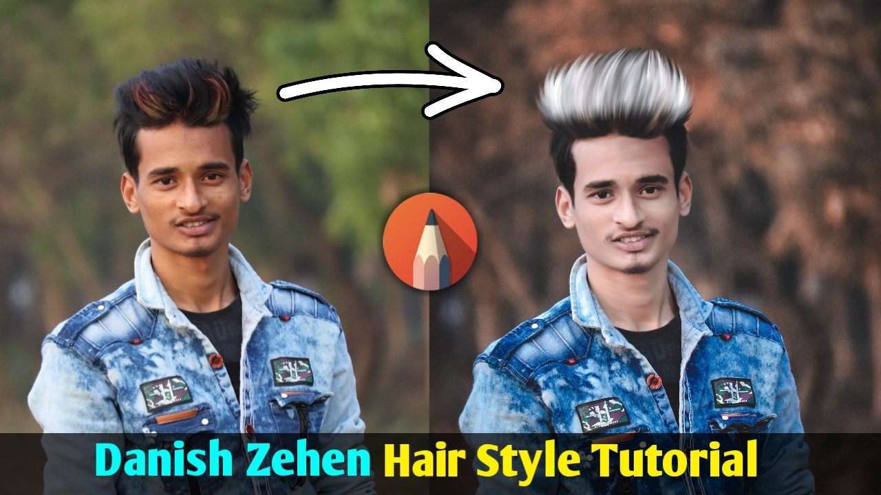 Danish Zehen Hair Style Editing Tutorial Sk Editz Sk Editz