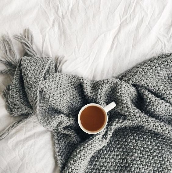 Cup of tea in bed
