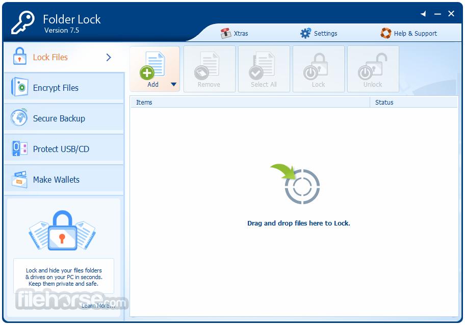 Folder Lock 7.5.6 with Keygen free download - Computer ...
