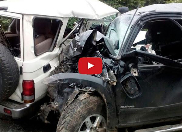 Choque en la Guarenas Guatire dejó cuatro muertos