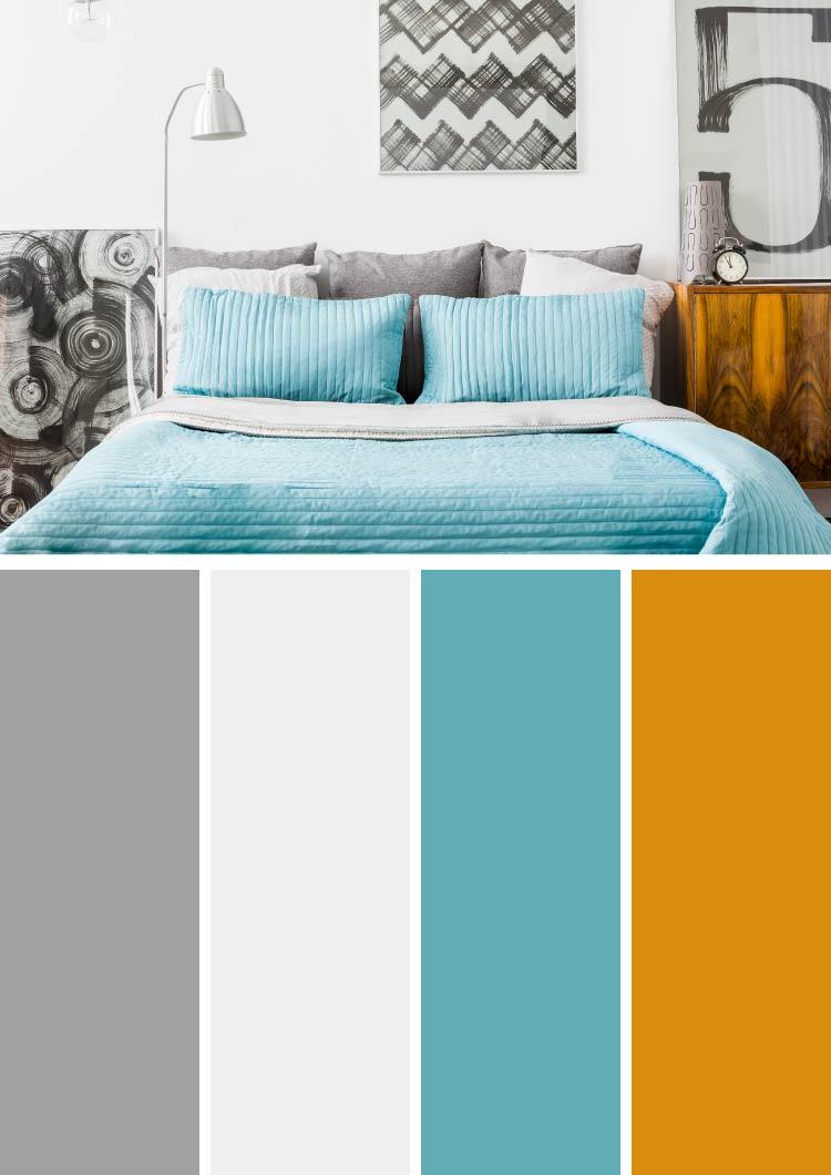 home garden 40 combinaisons de couleurs pour d corer chez soi. Black Bedroom Furniture Sets. Home Design Ideas