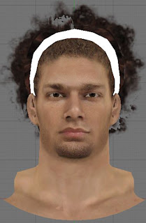 NBA 2K13 Robin Lopez Cyberface Headband