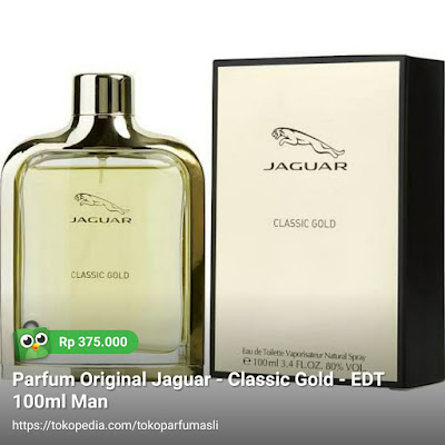 jaguar classic gold edt 100ml man