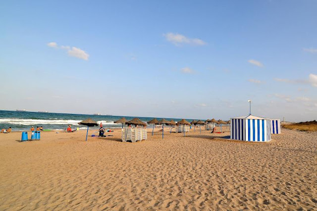 Praia de L'Arbre del Gos em Valência