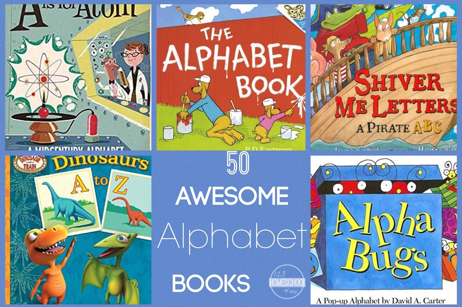 50 Awesome Alphabet Books