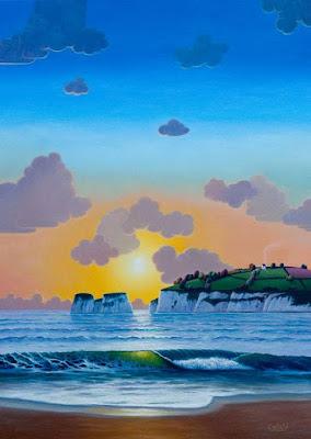 paisajes-de-colores-fluorecentes-modernos-cuadros