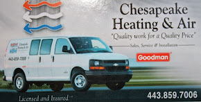 Chesapeake Heating & Air            443-859-7006