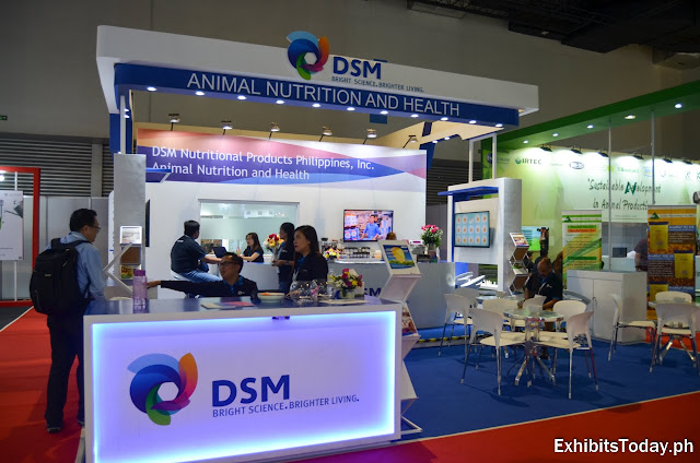 DSM Animal Nutrition and Health trade Show Display
