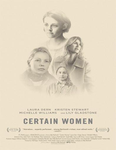 Ver Certain Women (2016) Online