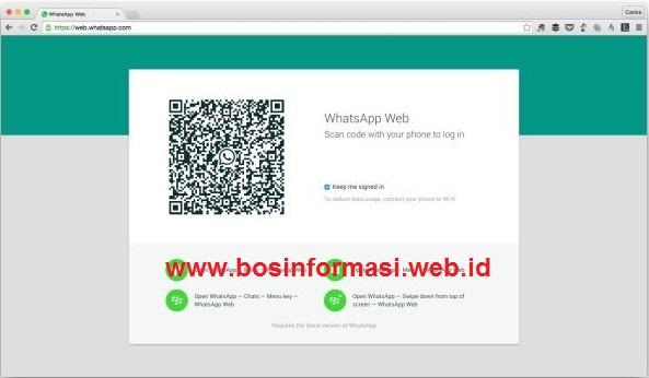 Cara Install WhatsApp di PC tanpa emulator