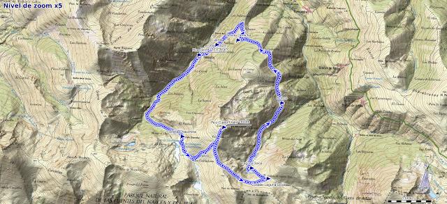 Mapa ruta Fraile Riomolín
