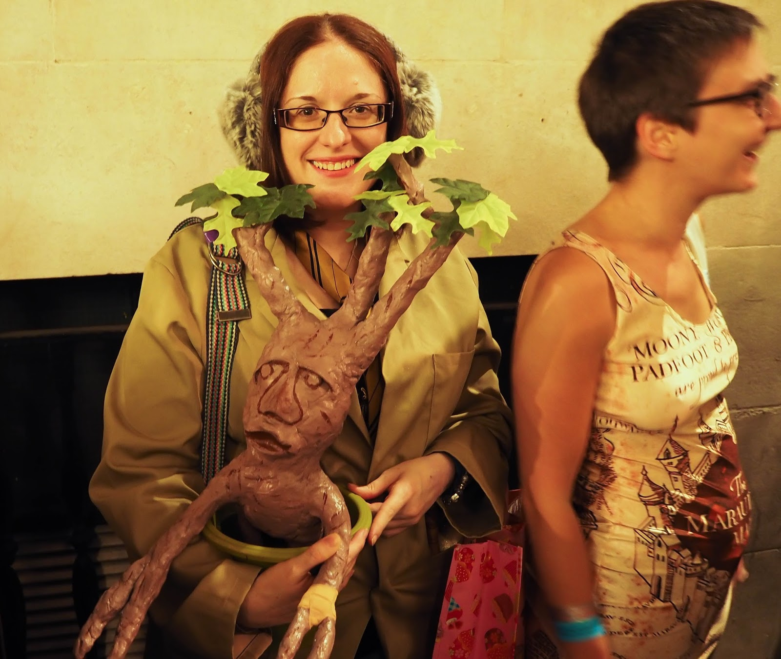 Harry Potter fancy dress. Mandrake