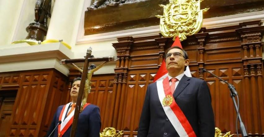 Presidente Vizcarra anuncia que cambiará a todos los Ministros [VIDEO]