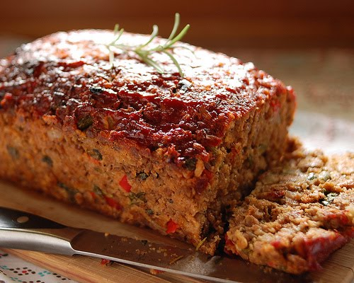 Doing My Best For Him Vegetable And Turkey Meatloaf Recipe