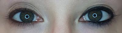 ESQIDO Gel Eyeliner Pencils in Black and Brown eye swatches