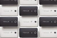 Google'ın Nexus 6 Phablet Telefon Siparişleri Tükendi