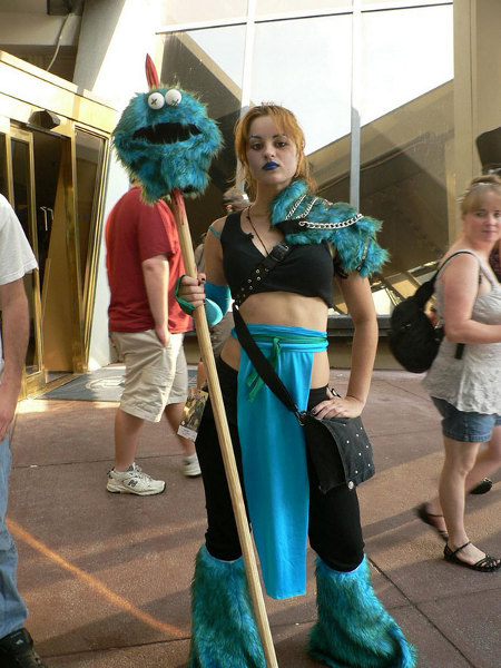 Cookie monster slayer cosplay