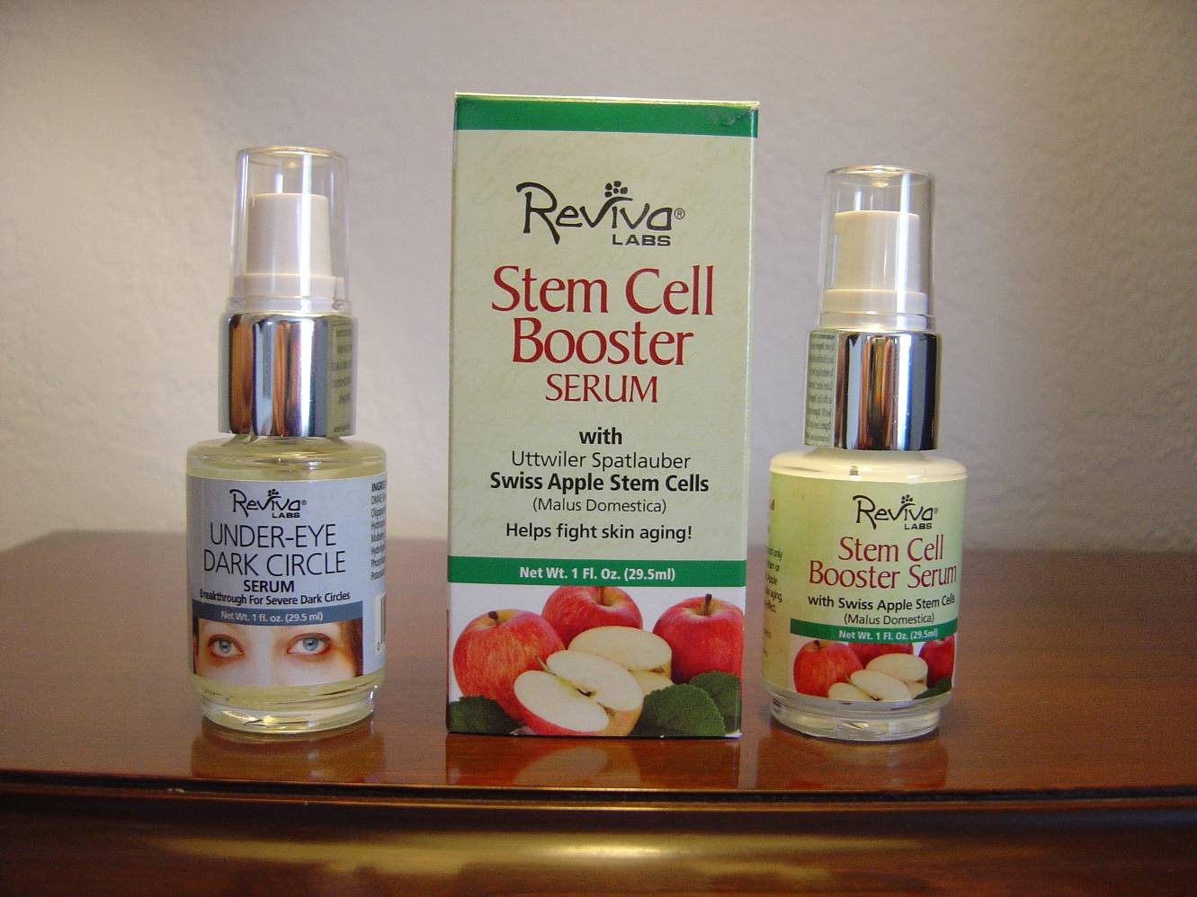 Under eye dark circle serum and swiss apple stem cell booster serum.jpeg