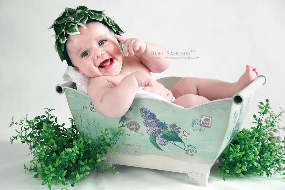 Book Bebê com cenário