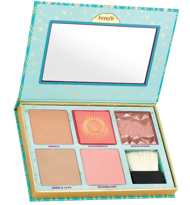 Paleta de coloretes cheekparade de Benefit