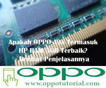 OPPO A3s RAM 3GB