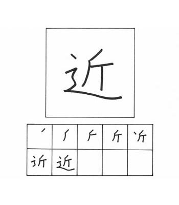 kanji dekat