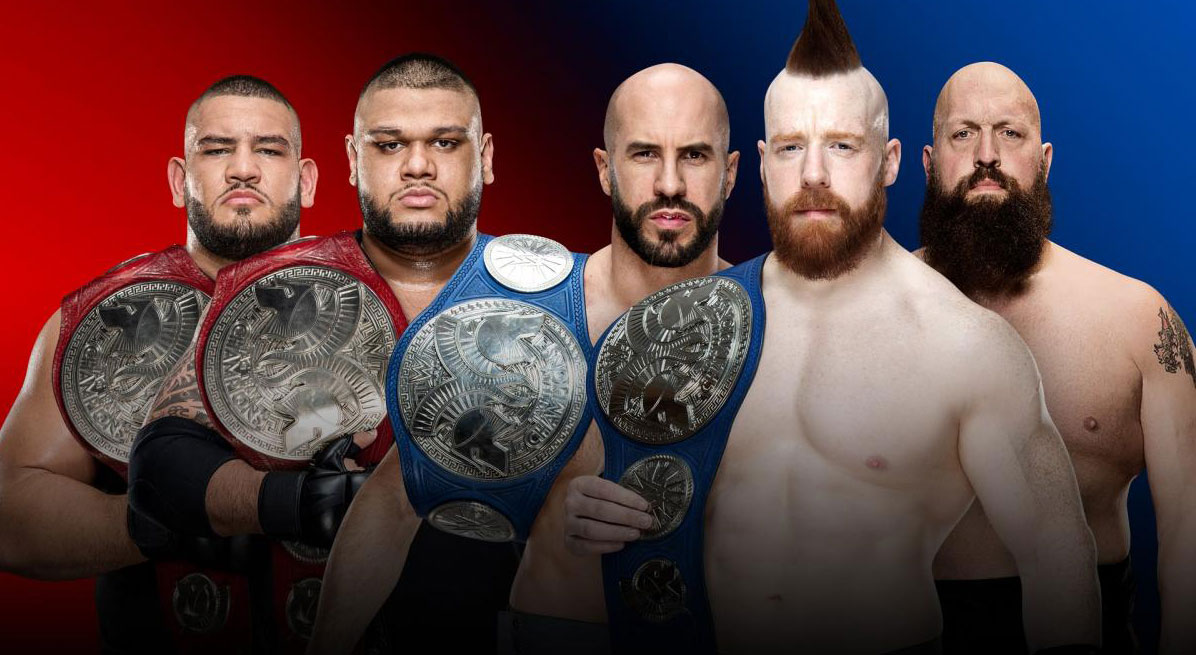 Raw Tag Team VS SmackDown Tag Team - tagrba.com
