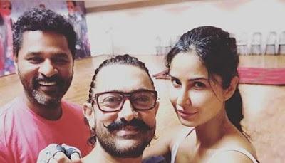 Aamir khan with katrina