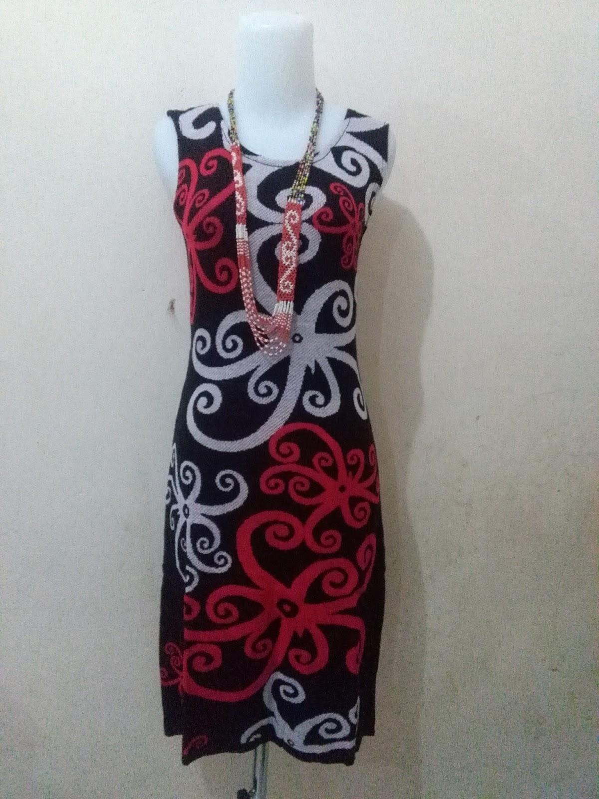 Batik Motif Dayak Khas Kalimantan