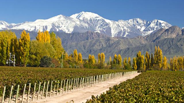 Temperatura em Mendoza, Argentina