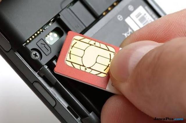 sim card pada ponsel