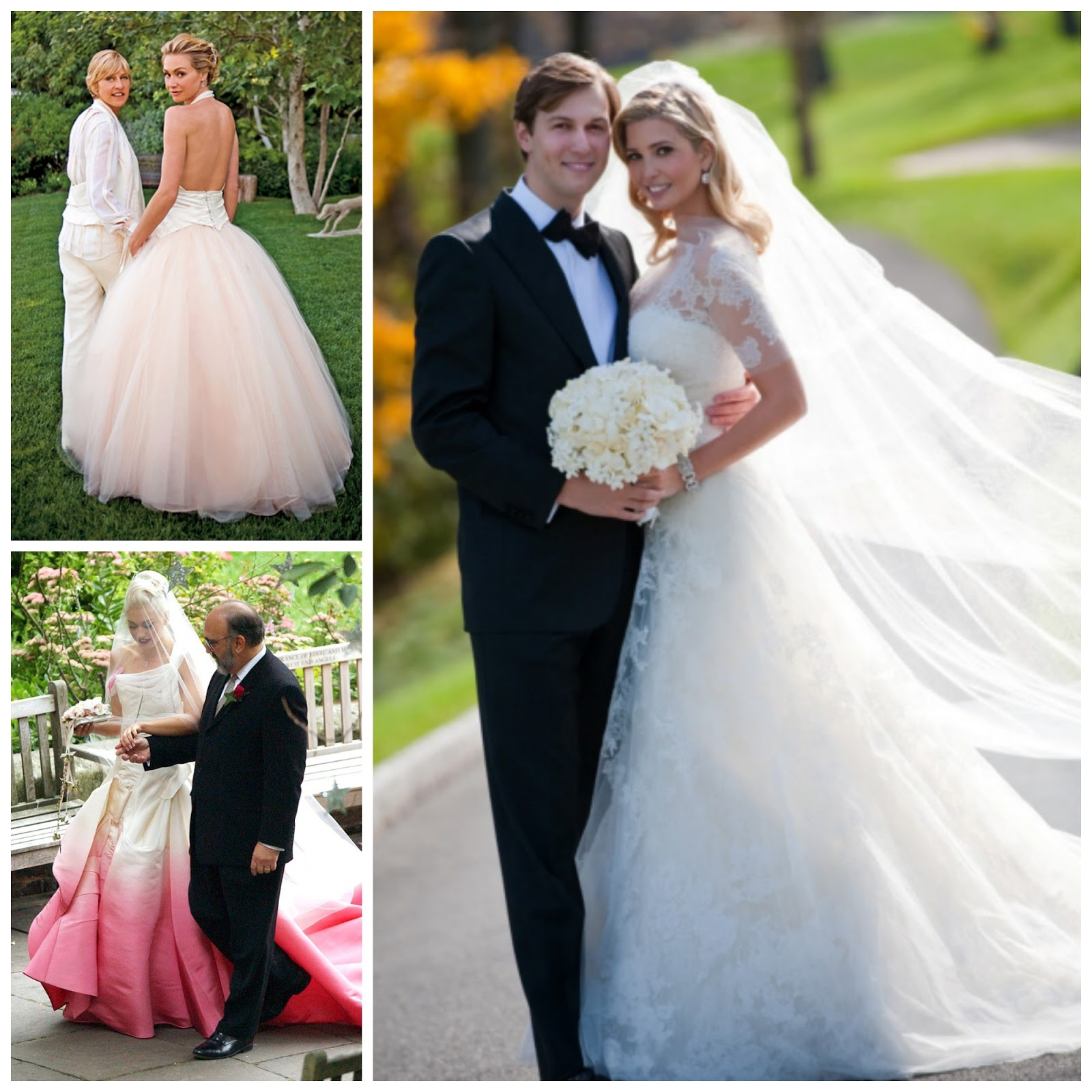 Portia De Rossi Wedding Gown: Luv, The Bride: Icons
