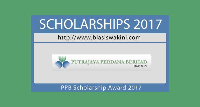 Putrajaya Perdana Berhad Scholarship Award 2017
