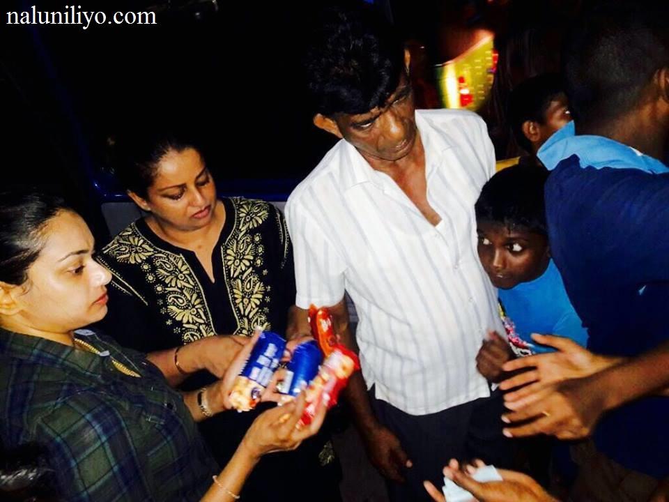 Janaki Wijerathne charity flood
