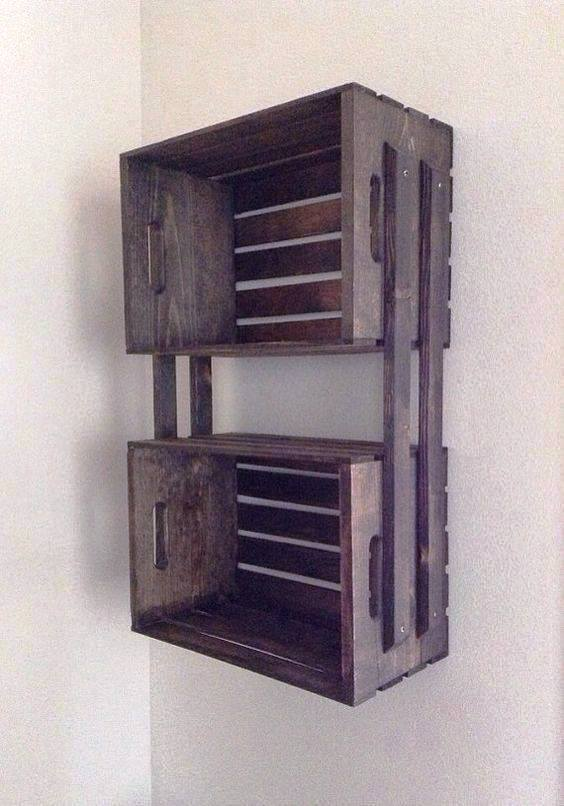 38 creative ideas recycle old wood box decor units for Old wooden box ideas