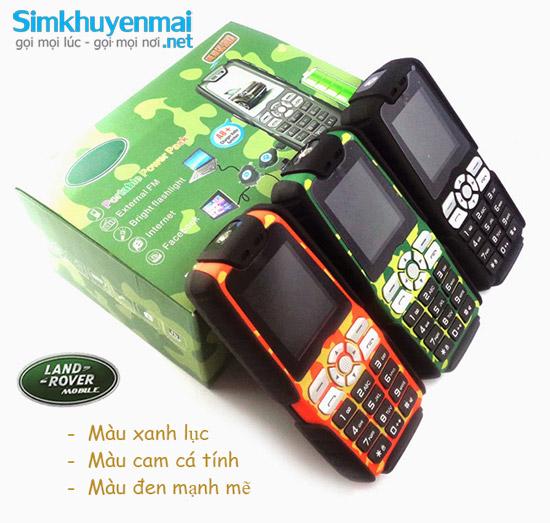Điện thoại Land Rover XP3300 A8+