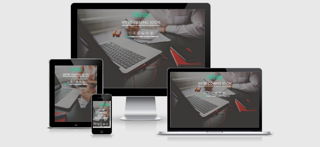 Best Free and Premium Coming Soon Blogger Template