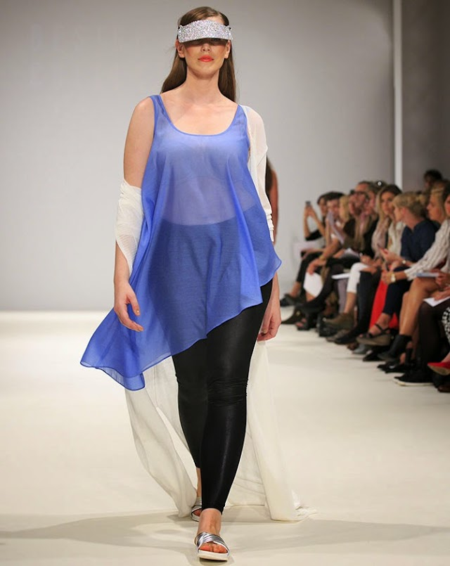 London Fashion Week just had its first ever plus-sized fashion show! 2014