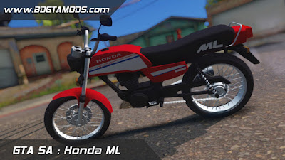 GTA SA - Honda ML 3