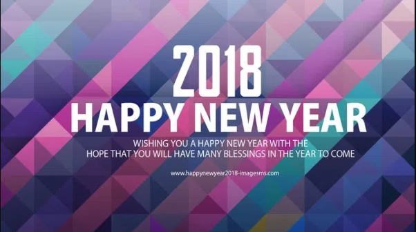 Happy New Year 2018 GIF Animated 3D Images, Wallpapers Download ( USA )  United State For Facebook