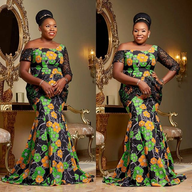 Cutie Latest Ankara Long Gown Styles With Different Hand Length You ...