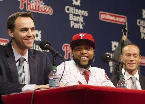 Philadelphia GM sold Carlos Santana on Phillies vision