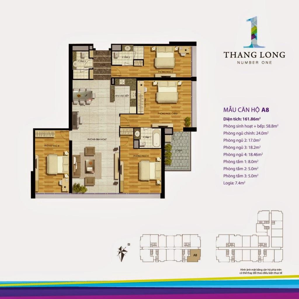 Căn A8- 161,86 m2
