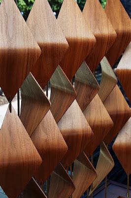 The 3D wood elements