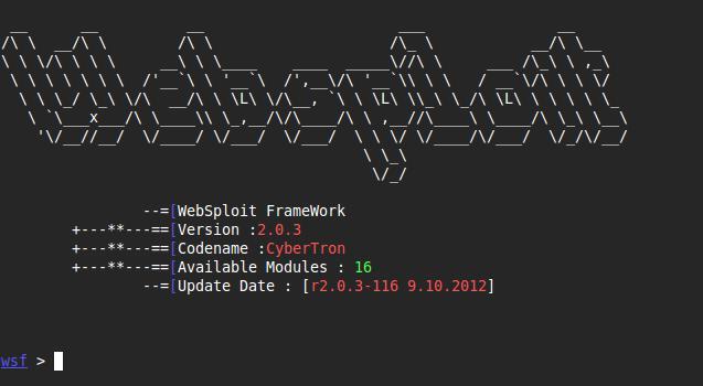 WebSploit] Framework 2 0 3 with Wifi Jammer | KitPloit
