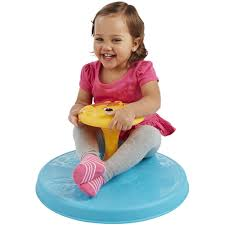 Vestibular Stimulation using a Sit and Spin