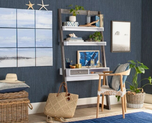 Home Office Coastal Art Ideas