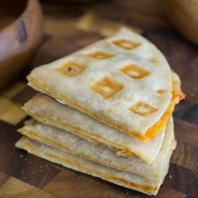 Waffled Pizza Pockets